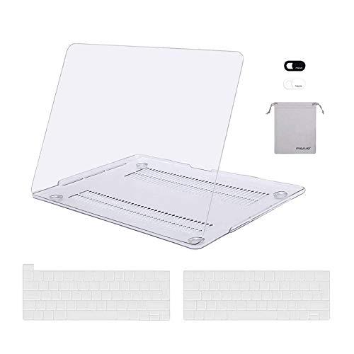 MOSISO Funda Dura Compatible con MacBook Pro 13 A2338 M1 A22