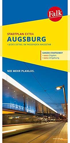 Falk Stadtplan Extra Standardfaltung Augsburg 1:20 000 (Falk Stadtplan Extra Standardfaltung - Deutschland)