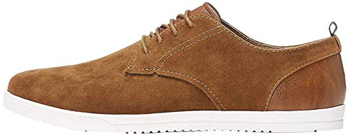 find. Herren Mendel Sports Derby Sneakers, Braun (Tan), 39/40 EU