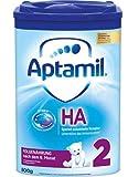 Aptamil ProExpert HA 2, Hypoallergene Folgemich, ab dem 6. Monat EazyPack, 2er Pack (2 x 800g) -
