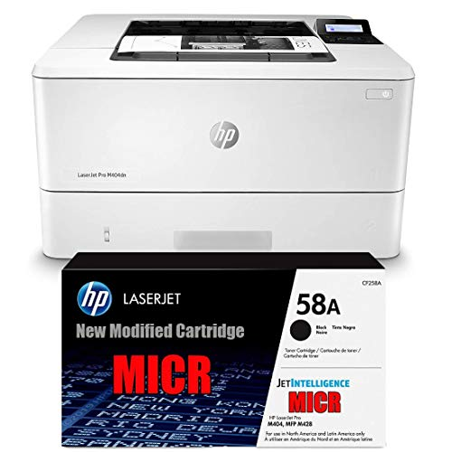 Ampro Laserjet M404N Check Printer MICR Check Printer Bundle with...