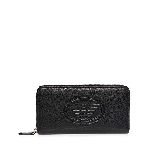 Emporio Armani Y3H168-YH18A-8001 Geldbörsen Damen Schwarz - Einheitsgrösse - Portemonnaie