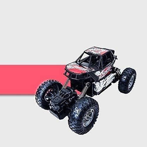yanzz Coche de Control Remoto RC Aleación Bigfoot de Alta Velocidad Todoterreno Coche de Escalada Deriva 4WD Coche de Control Remoto 2.4 GHz Radio de Alta Velocidad Deriva RC Coche Todoterreno COC
