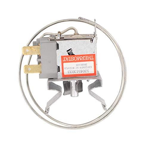 ApplianPar 5304513033 Refrigerator Temperature Control Thermostat for Frigidaire Kenmore 297216037 5304503436 PS9492389 297216033