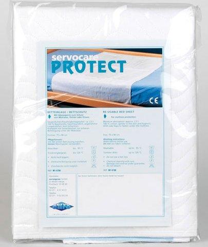 Waschbare Krankenunterlage (75 x 90 cm) - Inkontinenz Liege- und Sitzunterlage┇Mit Feuchtigkeitsspeicher und Feuchtigkeitssperre zum Schutz von Matratze, Polster, Kissen und Rollstuhl