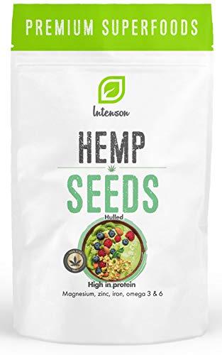 Hanfsamen Geschält | Hanfsamen 1 kg | Hemp seeds | Natürliche Protein | 100% Natürliche Hempseeds | Vegan |