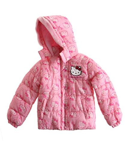 Hello Kitty Doudoune fushia, Rose, 8 ans