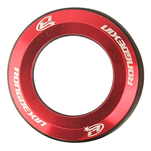 simhoa Headset Top Cap Front Fork Washer Spacers Decoration Dustproof Cover - Red