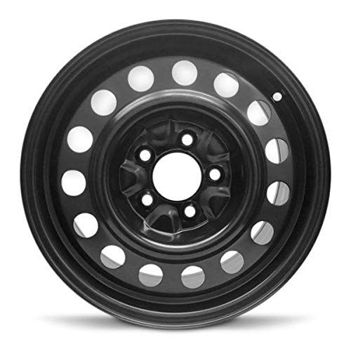 Road Ready Car Wheel for 2012-2014 Chevrolet Orlando Steel 16 Inch 5 Lug Full Size Spare 16' Rim Fits R16 Tire - Exact OEM Replacement - Full-Size Spare