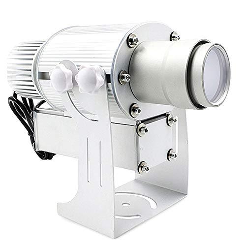 Wasserdicht 50W IP65 GOBO-Projektor Statisch/Spinning High-Power Fern Logo Projizieren von Licht frei, Silber,Remotecontrol