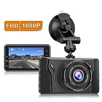 Dash Cam for Cars 1080P FHD Car Dash Camera CHORTAU 2021 New Version Car Camera Recorder 3.2Inch Screen Dashboard Camera with 170°Wide Angle Super Night Version WDR Loop Recording Parking Monitor