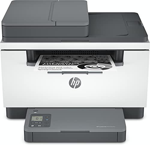 HP LaserJet MFP M234sdw 6GX01F, Impresora Láser Multifunción, Imprime, Escanea, Copia, Wi-Fi, Fast Ethernet, USB 2.0, HP Smart App, Panel de control con botones LED, Blanca y Gris