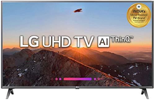 LG 109.3 cm (43 inches) 4K Ultra HD Smart LED TV 43UK6560PTC (Black) (2018 Model)