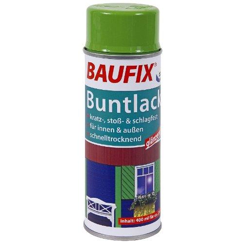BAUFIX Buntlack Sprühdose rapsgelb