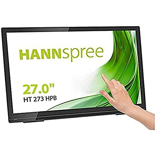 "HANNspree HT273HPB 68,6cm (27\"") Multitouch-Monitor Full-HD 300cd VGA HDMI Lautsprecher USB VESA Neigbar"