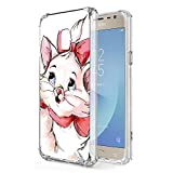 Zhuofan Plus Coque Samsung Galaxy J3 2017, Silicone Transparente avec Motif Design...