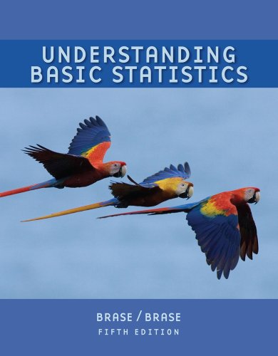 Student Solutions Manual for Brase/Brase's Understanding...