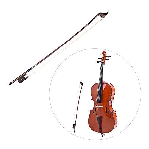 Kalaok Französischer Stil Bögen für Kontrabass Größe 4/4 Brasilianischer Bogen Rosshaarbogen Haar Great Balance Point Orchestersaiten Zubehör