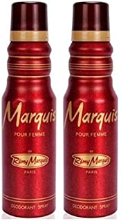 Remy Marquis Pour Femme Deo, 175ml -Pack of 2