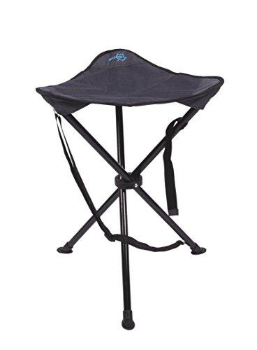 bo-camp Camping 3-Bein Hocker Deluxe mit 55 cm Sitzhöhe