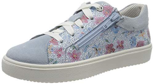 Superfit Mädchen Heaven Sneaker, Blau (Blau 85), 33 EU