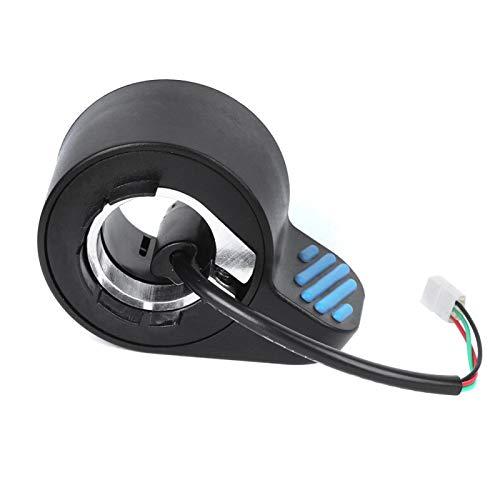 Práctico práctico práctico accesorio de scooter eléctrico Acelerador Acelerador Acelerador de plástico Acelerador duradero fácil de instalar para scooter eléctrico