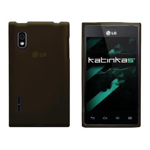 Katinkas 2108054733 funda para teléfono móvil Negro - Fundas para teléfonos móviles (Funda, LG, Optimus L5, Negro)