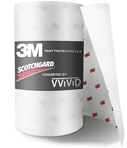 3M Scotchgard Clear Paint Protection Bulk Film Roll 6-by-84-inches