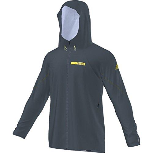 adidas Outdoor Men's Terrex Fastr Gore-Tex Active Shell 3 Jacket, Utility Green, Small
