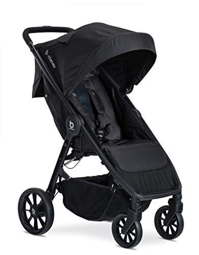 Britax B-Clever Compact Stroller, Cool Flow Teal - One Hand Fold, Ventilated Seating Area, All Wheel Suspension