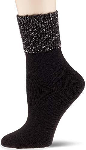 Camano Damen 1102004 Socken, Schwarz (Black 9999), 39/42
