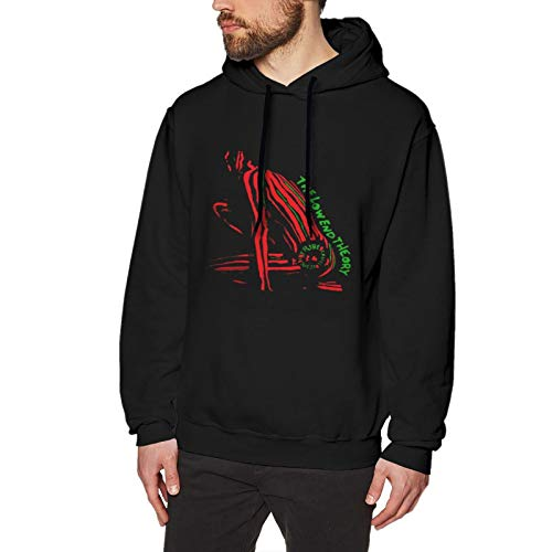 Tribe Called Quest The Low End Theory Long Sleeve Pullover Hoodies Casual Light Hooded Sweatshirt Black