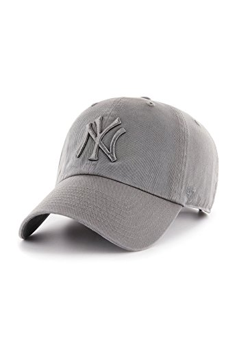 47 Brand MLB NY Yankees Clean Up Cap - Dark Grey