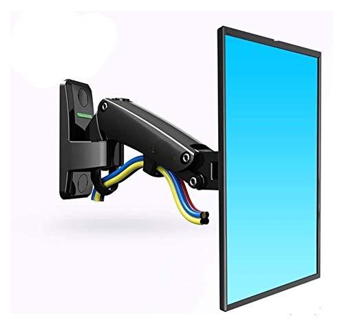 Inicio Equipo Soporte para TV Resorte de gas Soporte de montaje en pared para TV Soporte ergonómico para monitor LCD Soporte de brazo de aluminio Plata Rotación de 360 grados (Color: PLATA CON ST