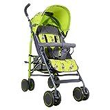 POLKA TOTS Zebra Baby Stroller Ultra Lightweight Umbrella Stroller, 6 wayReclining Seat, 5