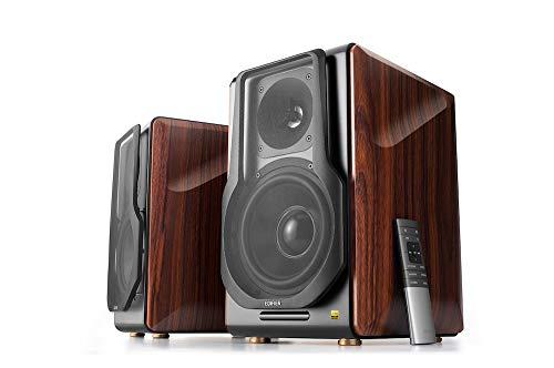 Edifier S3000Pro Audiophile Active Speakers - Truly Wireless, Bluetooth 5.0 aptX Wireless, USB Audio, Planar Diaphragm Tweeters and 6.5' Woofers