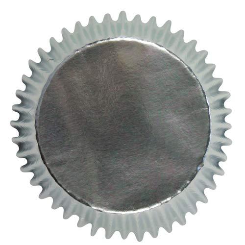 Estuches de Plata para Magdalenas, Tamaño Mini PME, Paquete de 45