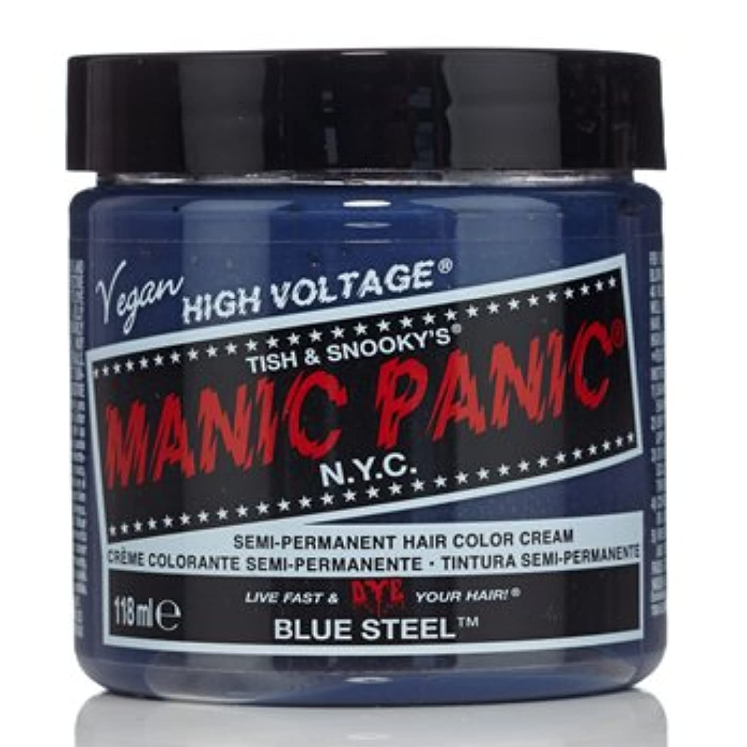 地元年金受給者要塞【3個セット】MANIC PANIC マニックパニック ブルースティール MC11052 118ml
