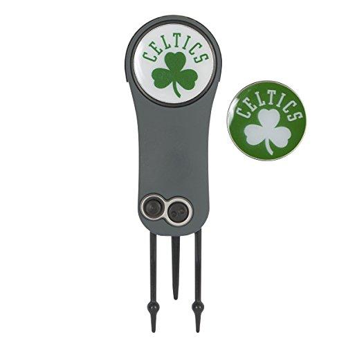 Team Effort Boston Celtics Switchblade Repair Tool & 2 Ball Markers green, 1'x2'