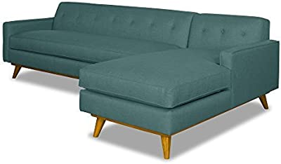 Amazon.com: Sealy Savannah Transitional Convertible Chaise ...