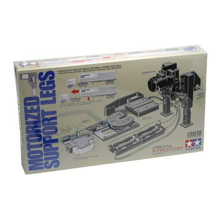 TAMIYA 56505 1:14 Aufliegerstützen elektrisch, Ersatzteil, Modellbau, Zubehör für RC Fahrzeug/ferngesteuertes Auto, Tuningteile