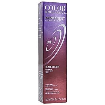 Ion Black Cherry Permanent Creme Hair Color Black Cherry