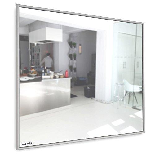 Spiegelheizung Infrarot 10 mm Alu-Rahmen 400 Watt VASNER Zipris S Flächenheizung Bild 6*