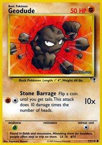Pokemon - Geodude (77) - Legendary Collection