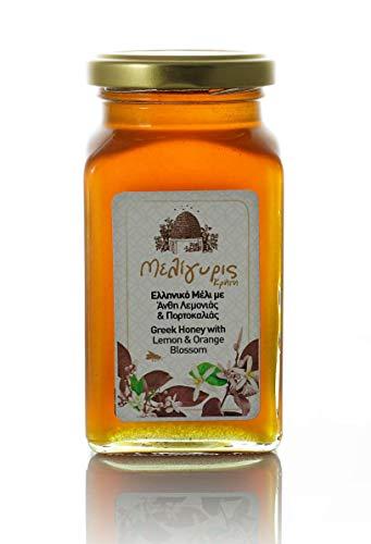 Honig mit Zitronen und Orangen-Blüten aus Kreta - naturrein, kaltgeschleudert 450gr ( Meligyris )