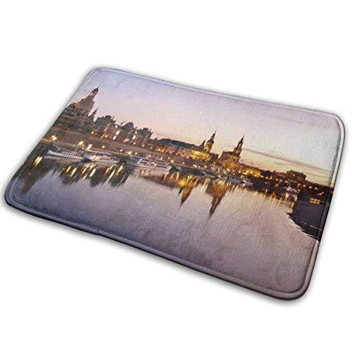 Fußmatten Dresden, Stadt, Deutschland, Architektur, historisch weiche Willkommens-Fußmatten Fußmatten