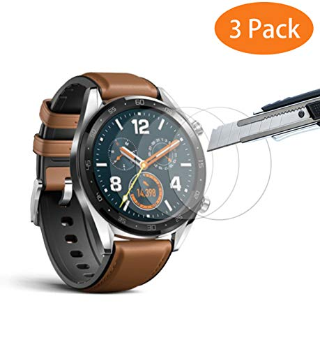 [3 Unidades] Protector Pantalla Huawei Watch GT,THILIVE