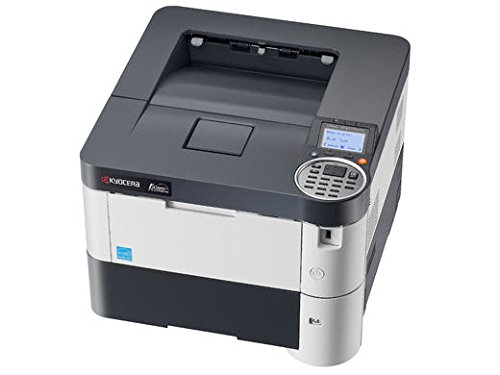 Kyocera 1102MS2US0 Model ECOSYS FS-2100DN A4 Black & White Laser Printer, 42 Pages per Minute, 2600 Sheet Maximum Paper Capacity, Resolution 1200 x 1200 dpi, First Print Out Time 9 Seconds or Less