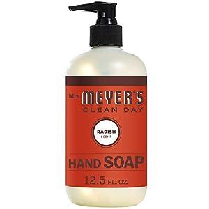 Radish, Pack of 1 : Mrs. Meyers Clean Day Liquid Hand Soap, 12.5 Fluid Ounce, Radish 5 41dM27XCXsL. SS300