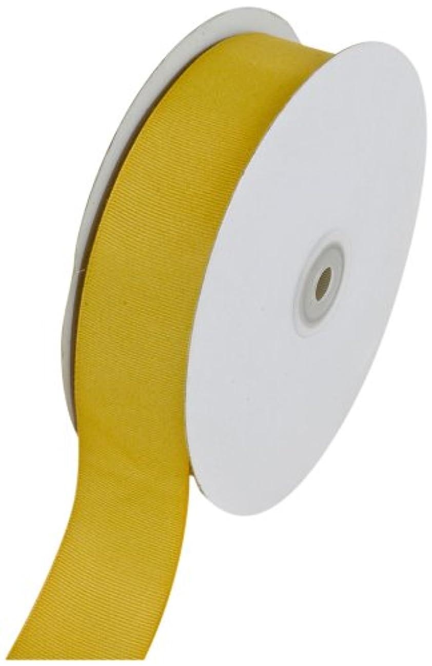 Creative Ideas Solid Grosgrain Ribbon, 1-1/2-Inch by 50-Yard, Antique Gold